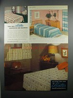 1953 Bates Bedspreads & Draperies Ad - Coronet, Windsor