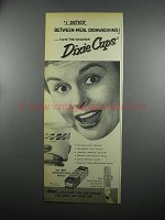 1953 Dixie Cups Ad - I Detest Between-Meal Dishwashing