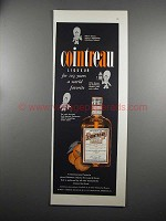 1953 Cointreau Liqueur Ad - 103 Years World Favorite