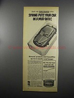 1953 Simoniz Wax Ad - Spring Puts Car in a Mud-Bath