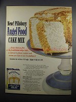 1953 Pillsbury Angel Food Cake Mix Ad