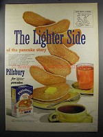 1952 Pillsbury Best Pancake Mix Ad - The Lighter Side