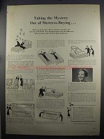 1952 Simmons Beautyrest Mattress Ad - The Mystery