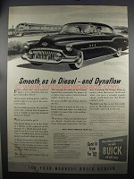 1952 Buick Super Riviera Ad - Diesel and Dynaflow