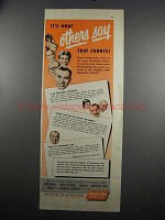 1952 America Fore Insurance Group Ad - Others Say