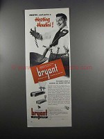 1951 Bryant Automatic Gas Heating Ad - Heating Houdini