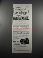 1951 Weyerhaeuser Home Building Ad - House Design 5136