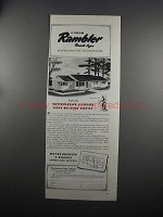 1951 Weyerhaeuser Home Building Ad - House Design 4150