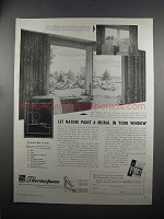 1951 Libbey-Owens-Ford Thermopane Glass Ad - Let Nature