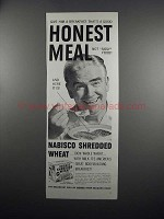 1951 Nabisco Shredded Wheat Ad - Honest Meal