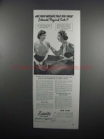 1951 Zonite Feminine Hygiene Ad - Has Your Mother Told