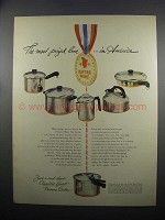 1950 Revere Ware Ad - The Most Prized Line