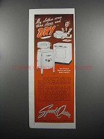 1950 Speed Queen Washer and Dryer Ad - My Clothes