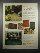 1950 Bigelow Rugs & Carpets Ad - Beauvais 1040-1843