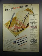 1949 Swift's Veal Ad - Get Fine Veal Every Time