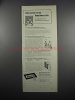 1949 Kimberly-Clark Kimsul Insulation Ad - This Quiz