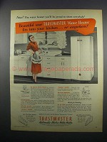 1949 Toastmaster Automatic Electric Water Heater Ad