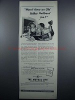 1948 The Mutual Life Insurance Company of New York Ad