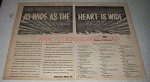 1956 BMI Broadcast Music, Inc. Ad - As the Heart