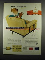 1955 Reynolds Aluminum Yarn Ad - Miracle upon Miracle