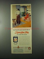 1955 Sherwin Williams Super Kem-Tone Paint Ad