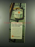 1955 Pratt & Lambert House Paint Ad - How to Make