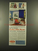 1955 Du Pont Custom Color Paints Ad