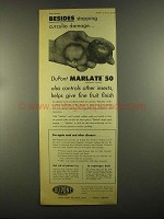 1955 Du Pont Marlate 50 Methoxychlor Insecticide Ad