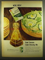 1955 Good Seasons Salad Dressing Mix Ad - New Idea