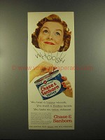 1955 Chase & Sanborn Coffee Ad - A Bigger Whoosh