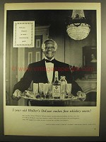 1955 Walker's DeLuxe Whiskey Ad - Fine Whiskey Sours