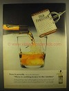 1955 Old Forester Whiskey Ad - Pour it Proudly