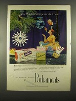 1955 Parliaments Cigarettes Ad - You'll Want Everyone