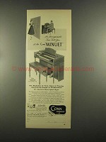 1955 Conn Minuet Organ Ad - Incomparable Tone