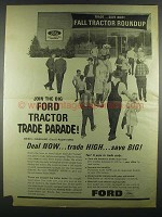 1964 Ford Tractors Ad - Join the Trade Parade
