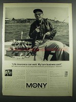 1964 Mony Mutual of New York Ad - Lure Business