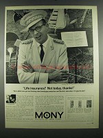 1964 MONY Mutual of New York Ad - Life Insurance?