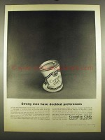 1964 Country Club Malt Liquor Ad - Strong Men