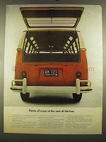 1964 Volkswagen Bus Ad - Room at the Rear of the Bus