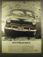 1964 Volvo Car Ad - Drive it Like You Hate It