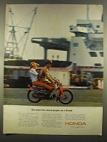 1964 Honda Super Sports Motorcycle Ad - Nicest People
