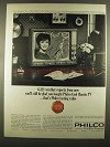 1964 Philco Woodstock Model #3600-LCH Television Ad