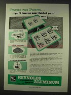 1947 Reynolds Aluminum Ad - Pound For Pound