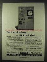 1947 Brown Instruments, Minneapolis-Honeywell Ad