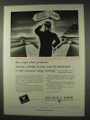 1947 Bausch & Lomb Ad - Advanced College Training