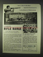 1947 Crosman Rifle Range, 200 Carbine Ad