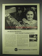 1947 RCA Electronic Metal Detector Ad - Stowaways