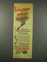 1947 Federal-Mogul Oil-Control Bearings Ad, Performance