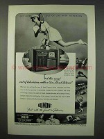 1947 Du Mont Teleset Television Ad - Get The Most