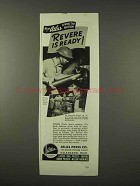 1942 Atlas Press Tool Ad - Revere is Ready - 75 Shells